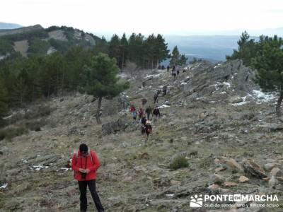 Circo de la Puebla. Sierra del Rincón;senderos club de montaña;hacer amistades